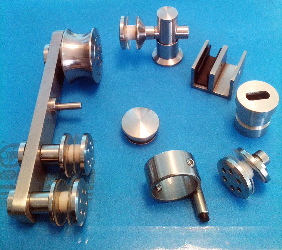 Components for Roller Glass Door