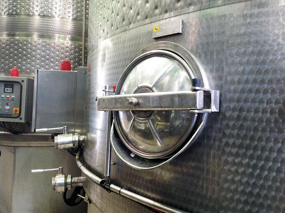 Sliding Door & Ball Valves - Wine Industry 3