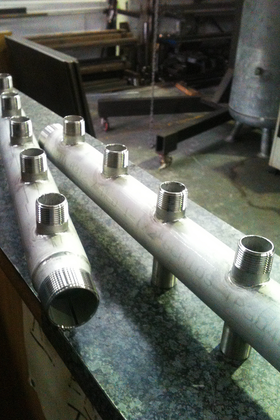 Stainless Steel Manifolds - Water System2