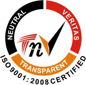 ISO 90012008 Certified